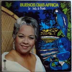 BUENOS DIAS AFRICA - La india de Oriente - LP