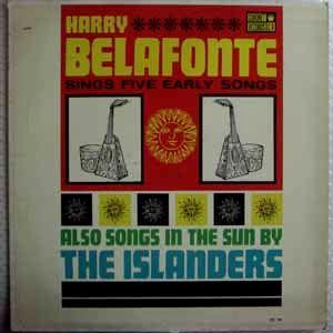 HARRY BELAFONTE - Sings five early songs - LP