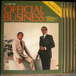 DUNN & BRUCE STREET - Official Business - 33T