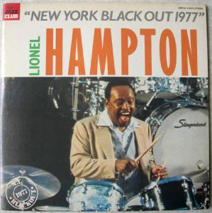 LIONEL HAMPTON - New York black out 1977 - LP
