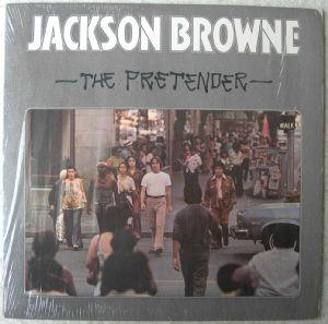 JACKSON BROWNE - The pretender - LP