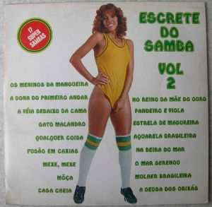 ESCRETE DO SAMBA - Vol. 2 - LP