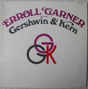 ERROLL GARNER - Plays Gershwin & Kern - 33T