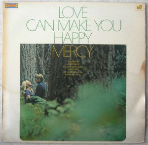 MERCY - Love can make you happy - LP