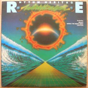 RHYTHM HERITAGE - Last night on earth - LP
