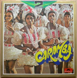 ROBERTO DELGADO AND HIS ORCHESTRA - Caramba - LP