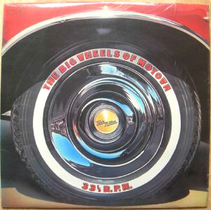 VARIOUS ARTISTS - The Big wheels of Motown - LP