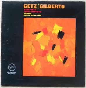 STAN GETZ JOAO GILBERTO FEAT ANTONIO CARLOS JOBIM - Getz / Gilberto - LP