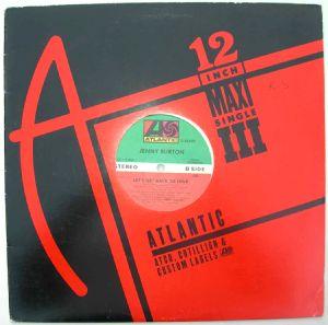 JENNY BURTON - Bad Habits / Let's get back to love - 12 inch 33 rpm
