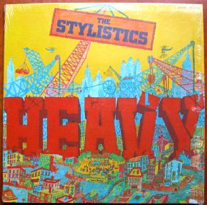 THE STYLISTICS - Heavy - LP