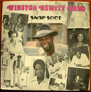 WINSTON HEWITT BAND - Snap Shot - LP