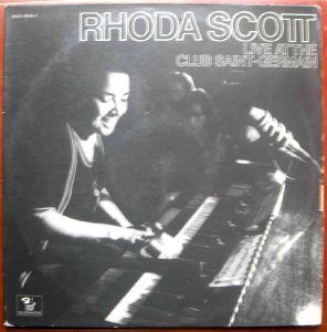 RHODA SCOTT - Live at club Saint-Germain - LP x 2