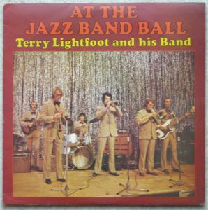 TERRY LIGHTFOOT AND HIS BAND - At the Jazz band ball - LP