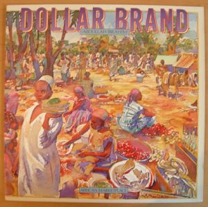 DOLLAR BRAND - African market place - LP