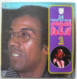JORGE BEN - 24 Grands succes - Double LP Gatefold
