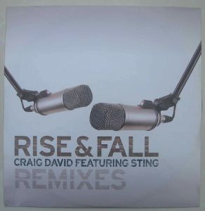 CRAIG DAVID FEATURING STING - Rise and Fall - 12 inch 33 rpm