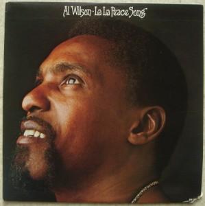 AL WILSON - La la peace song - LP