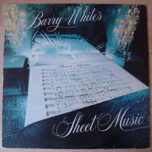 BARRY WHITE - Sheet music - LP