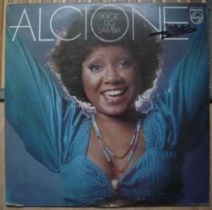 ALCIONE - A voz do Samba - LP