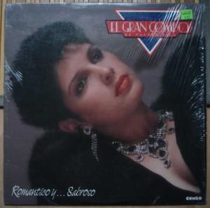 EL GRAN COMBO DE PUERTO RICO - Romantica y sabroso - LP