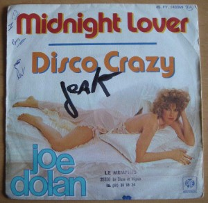JOE DOLAN - Midnight lover / Disco crazy - 7inch (SP)