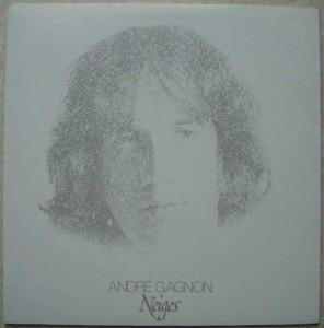 ANDRE GAGNON - Neiges - LP Gatefold