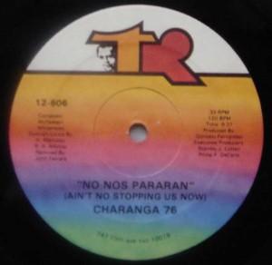 CHARANGA 76 - No nos pararan / Wanda - 12 inch 33 rpm