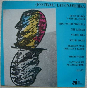 VA (REUBEN BLADES, MILVA, WILLIE COLON,…) - Festival Lateinamerika - LP