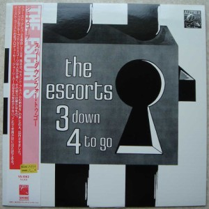 THE ESCORTS - 3 down 4 to go - LP