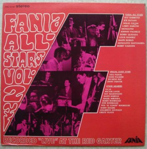 FANIA ALL-STARS - Recorded ''Live'' at the Red GarterVolume 2 - LP