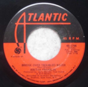 ARETHA FRANKLIN - Brand new me / Bridge over troubled water - 7inch (SP)