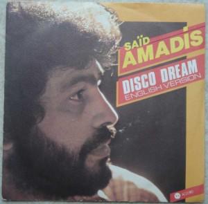 SAID AMADIS - Disco Dream - 7inch (SP)