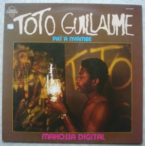 TOTO GUILLAUME - Makossa digital - LP