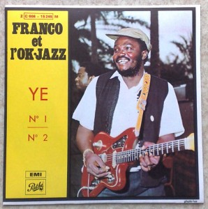 FRANCO ET L'OK JAZZ - Ye n°1 / n°2 - 7inch (SP)
