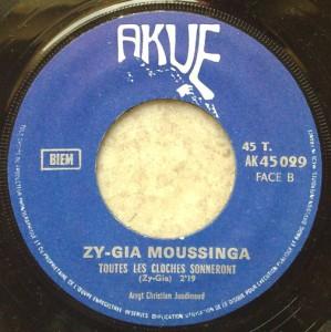 ZY-GIA MOUSSINGA - Esodisodi / Toutes les cloches sonneront - 7inch (SP)