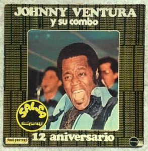 JOHNNY VENTURA Y SU COMBO - 12 aniversario - LP