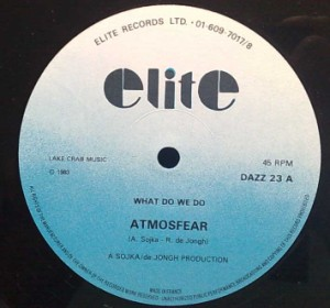 ATMOSFEAR - What we do - 12 inch 33 rpm