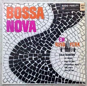 LALO SCHIFFRIN - Bossa Nova em Nova York - LP