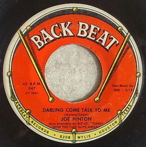 JOE HINTON - Everything / Darling come talk to me - 7inch (SP)