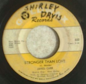 JAMES CARR - A man needs a woman / Stronger than love - 7inch (SP)