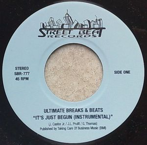 ULTIMATE BREAKS & BEATS - It's just begun - 7inch (SP)