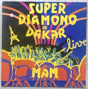 SUPER DIAMANO DE DAKAR - Mam - LP