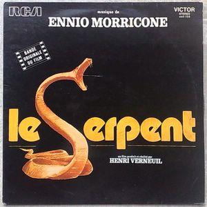 ENNIO MORRICONE - Le serpent - LP