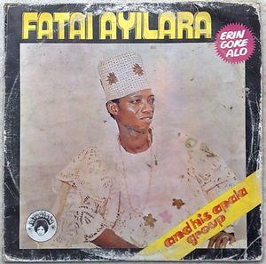 FATAI AYILARA AND HIS APALA GROUP - Eringokealo - LP