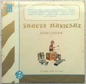 JANKO NILOVIC - Jouets musicaux - LP