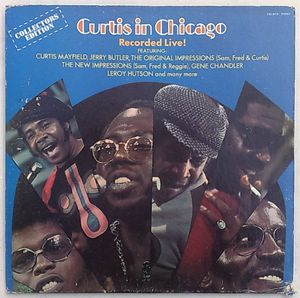 CURTIS MAYFIELD - Curtis in Chicago - LP