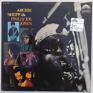 ARCHIE SHEPP & PHILLY JOE JONES - Same - LP