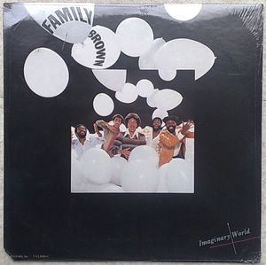 FAMILY BROWN - Imaginary world - LP