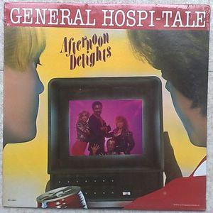 GENERAL HOSPI-TALE - Afternoon delights - LP