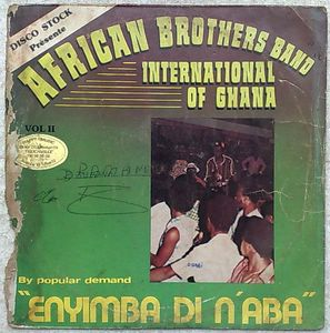 AFRICAN BROTHERS BAND INTERNATIONAL - Enyimba di n'aba - LP